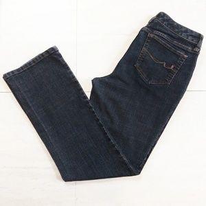 St. John's Bay Jeans - St. John's Bay Blue Straight Leg Jeans